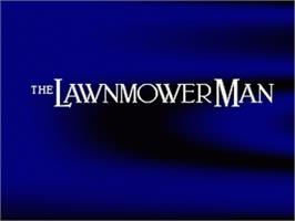 Title screen of The Lawnmower Man on the Nintendo SNES.