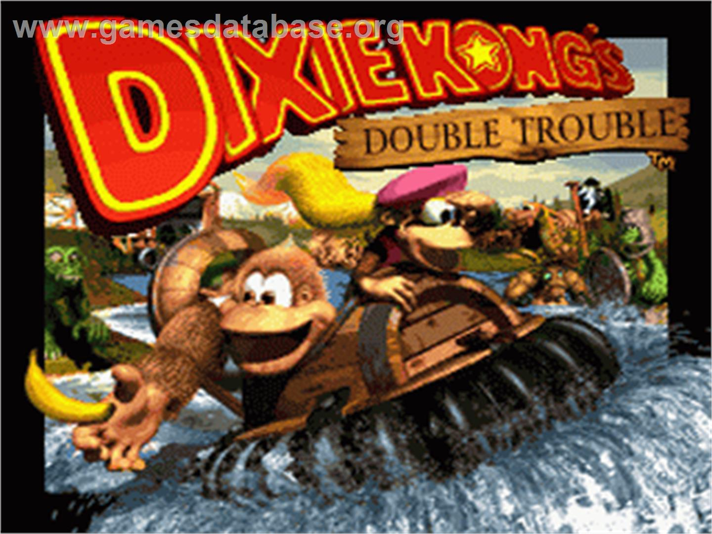 Donkey Kong Country 3 Dixie Kong S Double Trouble