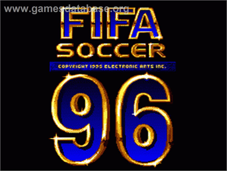 Fifa Soccer 96 Nintendo Snes Games Database