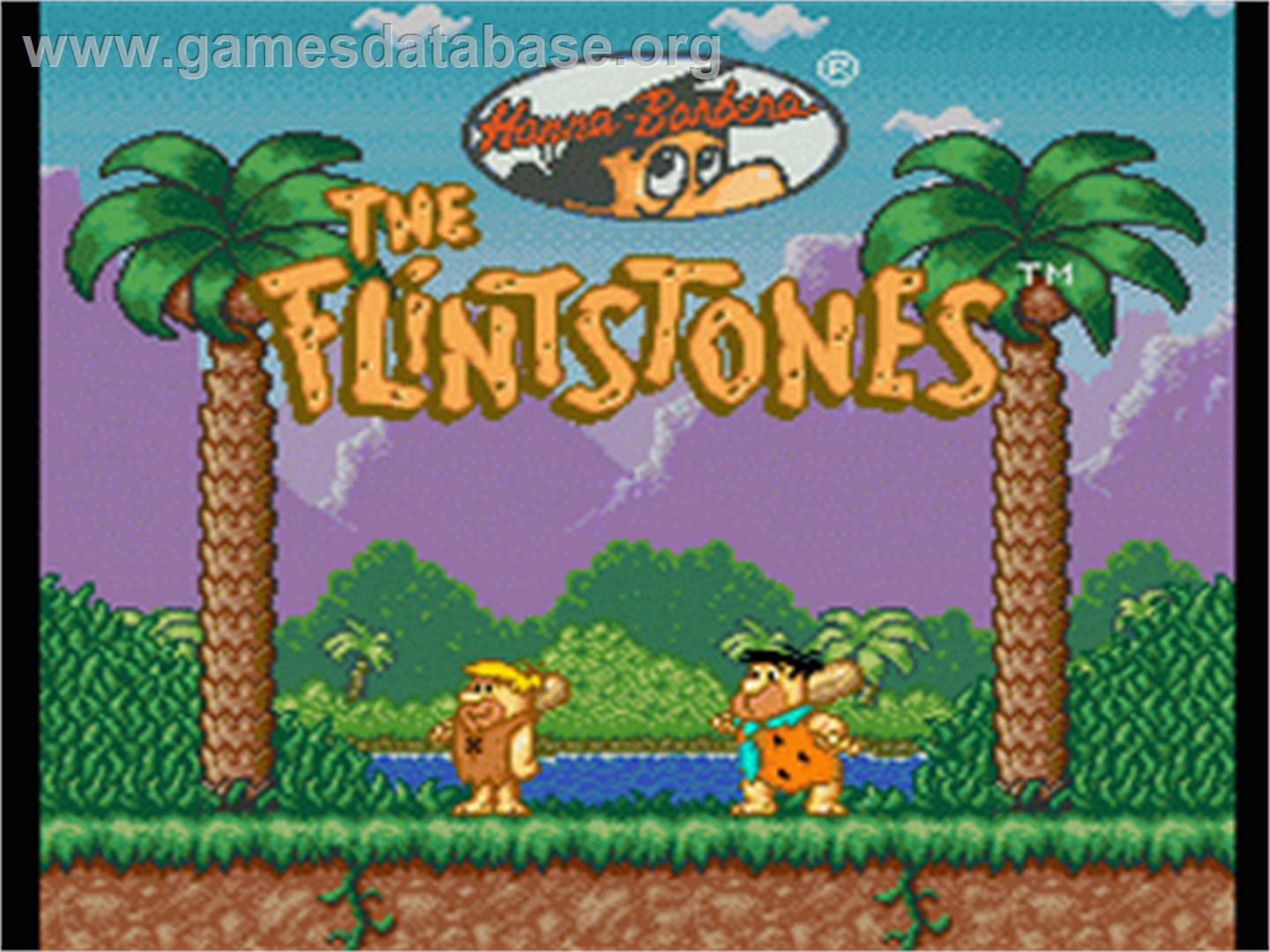 download the flintstones game box