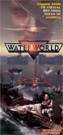 Advert for Waterworld on the Nintendo Virtual Boy.