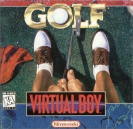 Box cover for Golf on the Nintendo Virtual Boy.
