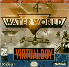 Box cover for Waterworld on the Nintendo Virtual Boy.