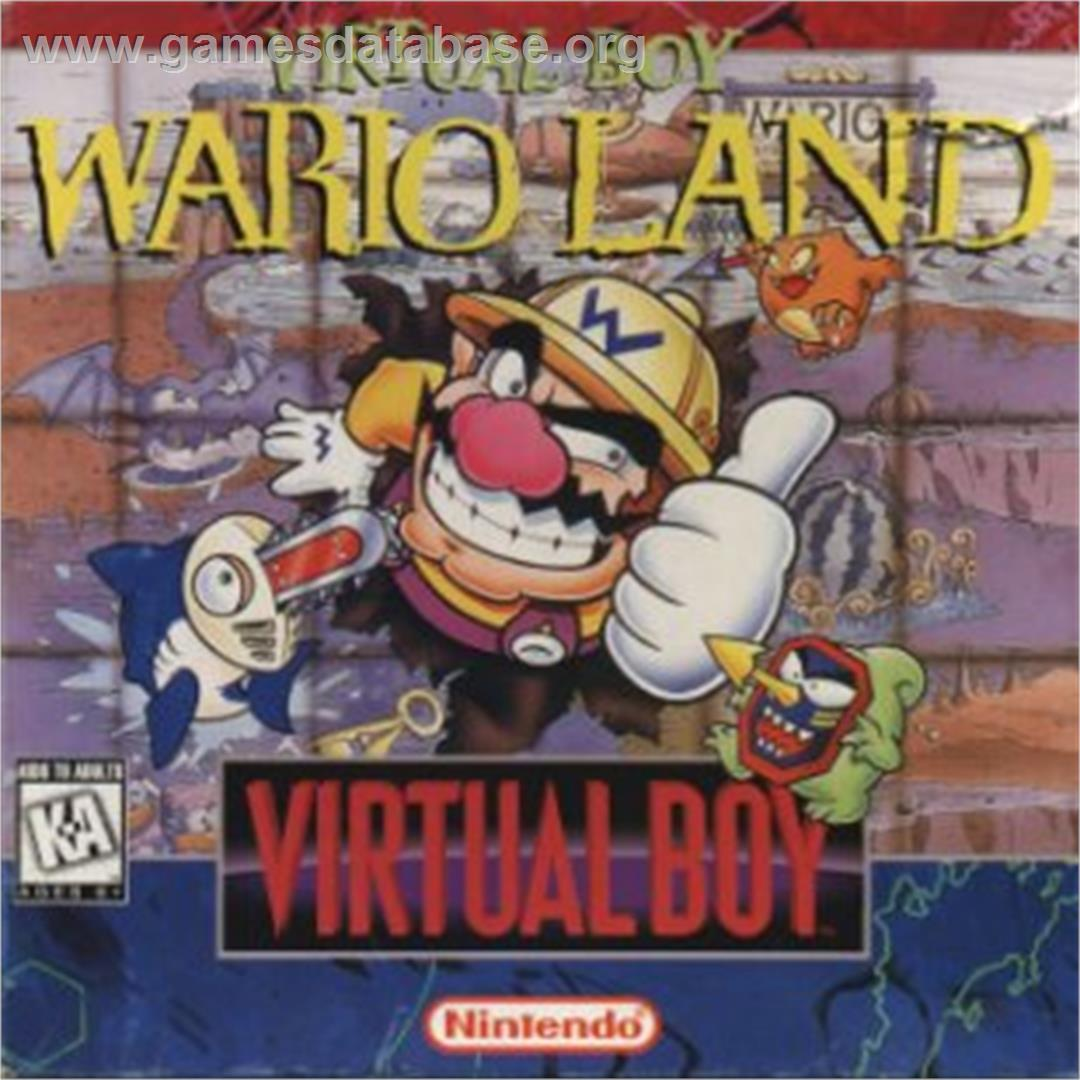 Virtual Boy Wario Land - Nintendo Virtual Boy - Artwork - Box