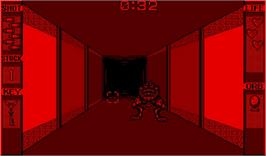 In game image of Insmouse no Yakata on the Nintendo Virtual Boy.