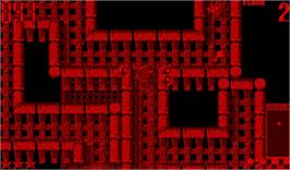 In game image of Jack Bros. on the Nintendo Virtual Boy.