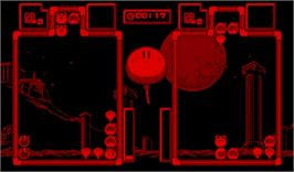 In game image of Panic Bomber on the Nintendo Virtual Boy.