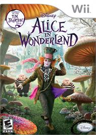 Box cover for Alice in Wonderland on the Nintendo Wii.