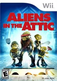 Box cover for Aliens in the Attic on the Nintendo Wii.