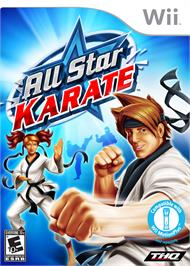 Box cover for All-Star Karate on the Nintendo Wii.