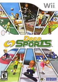 Box cover for Deca Sports on the Nintendo Wii.