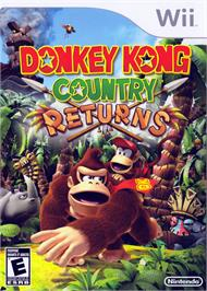 Box cover for Donkey Kong Country Returns on the Nintendo Wii.