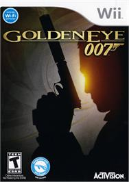 Box cover for Goldeneye 007 on the Nintendo Wii.