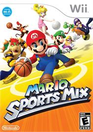 Box cover for Mario Sports Mix on the Nintendo Wii.