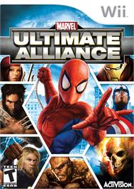Box cover for Marvel Ultimate Alliance on the Nintendo Wii.