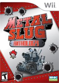 Box cover for Metal Slug Anthology on the Nintendo Wii.