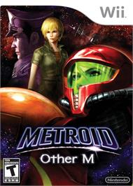 Box cover for Metroid Other M on the Nintendo Wii.