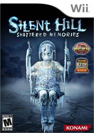 Box cover for Silent Hill - Shattered Memories on the Nintendo Wii.
