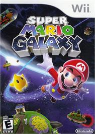 Box cover for Super Mario Galaxy on the Nintendo Wii.