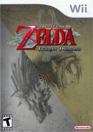 Box cover for The Legend Of Zelda - Twilight Princess on the Nintendo Wii.