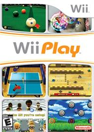 Box cover for Wii Play on the Nintendo Wii.