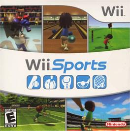 Box cover for Wii Sports on the Nintendo Wii.