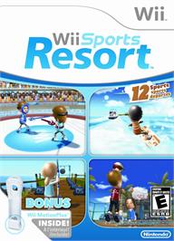 Box cover for Wii Sports Resort on the Nintendo Wii.