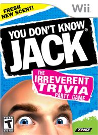 Box cover for You Don't Know Jack on the Nintendo Wii.