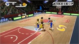 In game image of Deca Sports on the Nintendo Wii.