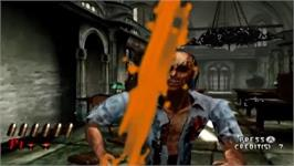 In game image of House Of The Dead 2 3 & Return on the Nintendo Wii.
