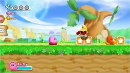 In game image of Kirby's Return To Dreamland on the Nintendo Wii.
