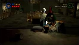 In game image of LEGO Harry Potter Years 1-4 on the Nintendo Wii.