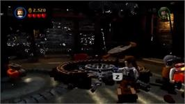 In game image of LEGO Pirates Of The Carribean on the Nintendo Wii.