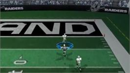 In game image of Madden 12 on the Nintendo Wii.