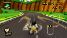 In game image of Mario Kart Wii on the Nintendo Wii.