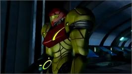 In game image of Metroid Other M on the Nintendo Wii.