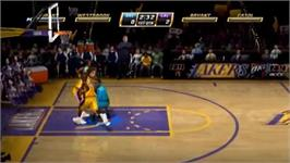 In game image of NBA Jam on the Nintendo Wii.