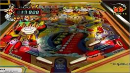 In game image of Pinball Hall Of Fame The Gottlieb Collection on the Nintendo Wii.