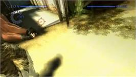 In game image of Resident Evil - The Darkside Chronicals on the Nintendo Wii.