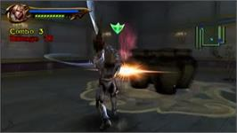 In game image of Soul Calibur Legends on the Nintendo Wii.