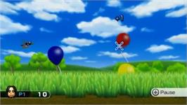 In game image of Wii Play on the Nintendo Wii.