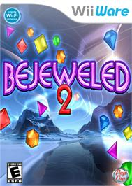 Box cover for Bejeweled 2 on the Nintendo WiiWare.