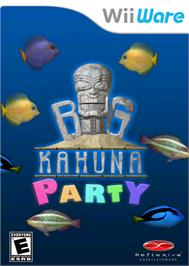 Box cover for Big Kahuna Party on the Nintendo WiiWare.