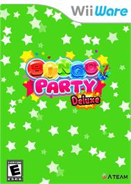 Box cover for Bingo Party Deluxe on the Nintendo WiiWare.