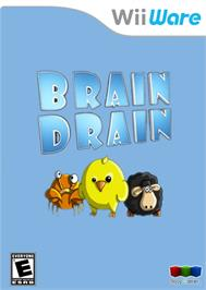 Box cover for Brain Drain on the Nintendo WiiWare.