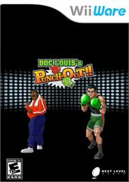 Box cover for Doc Louiss Punch Out on the Nintendo WiiWare.