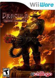 Box cover for Dracula - Undead Awakening on the Nintendo WiiWare.