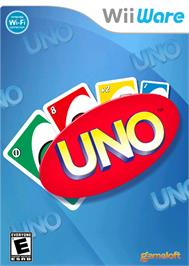 Box cover for UNO on the Nintendo WiiWare.