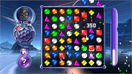 In game image of Bejeweled 2 on the Nintendo WiiWare.