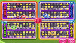In game image of Bingo Party Deluxe on the Nintendo WiiWare.